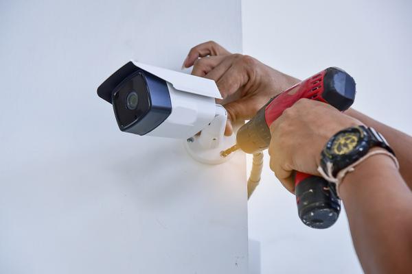 Installation camera