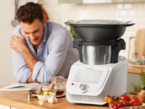 Robots de cuisine connectes